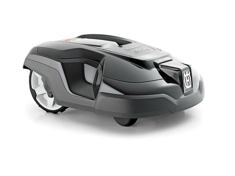 Husqvarna Automower 310:   bis ca. 1.000 m² Flächenleistung  vollautomatisch akkubetriebener Rasenrobot