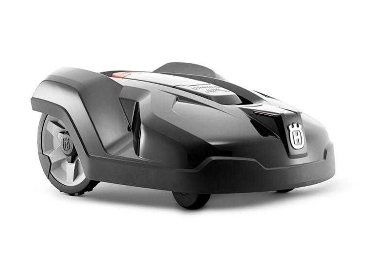 Husqvarna Automower 420:   bis ca. 2.200 m² Flächenleistung  vollautomatisch akkubetriebener Rasenrobot