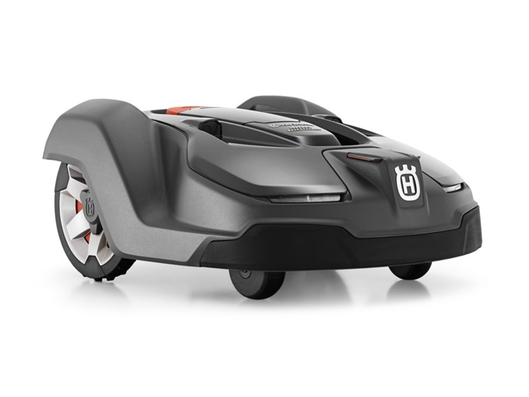 Husqvarna Automower 450X:   bis ca. 5.000 m² Flächenleistung  vollautomatisch akkubetriebener Rasenrobot