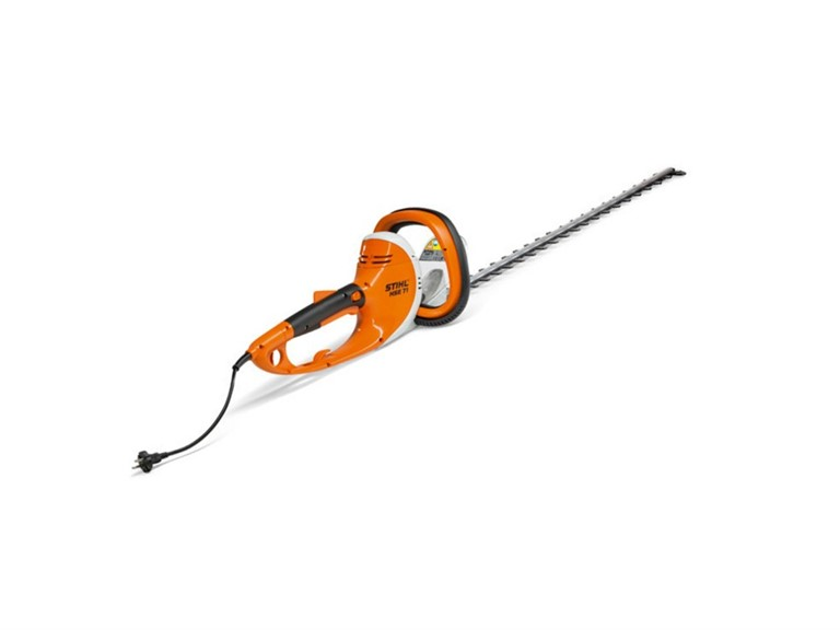 Stihl HSE 71:   Elektro-Heckenschere  Schnittlänge: 60cm  Nennspannung: 230V  Leistungsauf