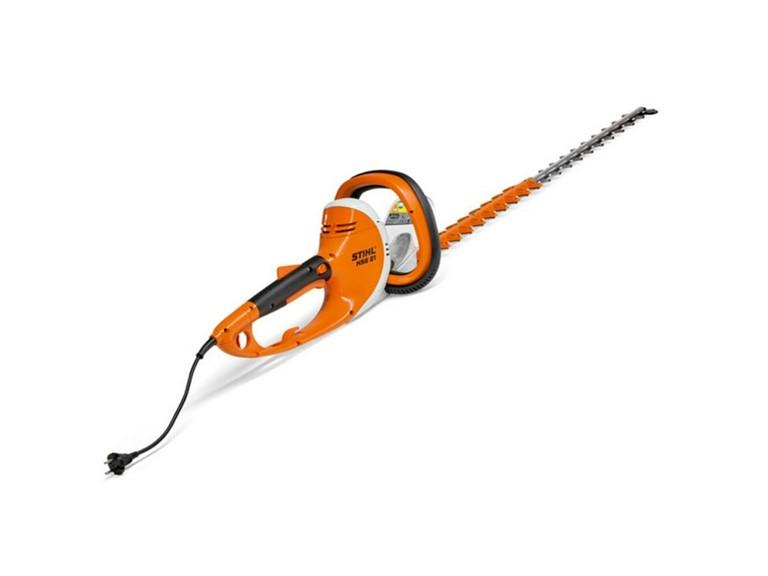 Stihl HSE 81:   Elektro-Heckenschere  Schnittlänge: 70cm  Nennspannung: 230V  Leistungsauf